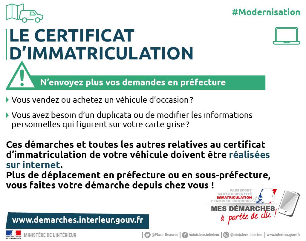 carte grise la rochelle Cartes Grises / Démarches administratives / Accueil   Les services