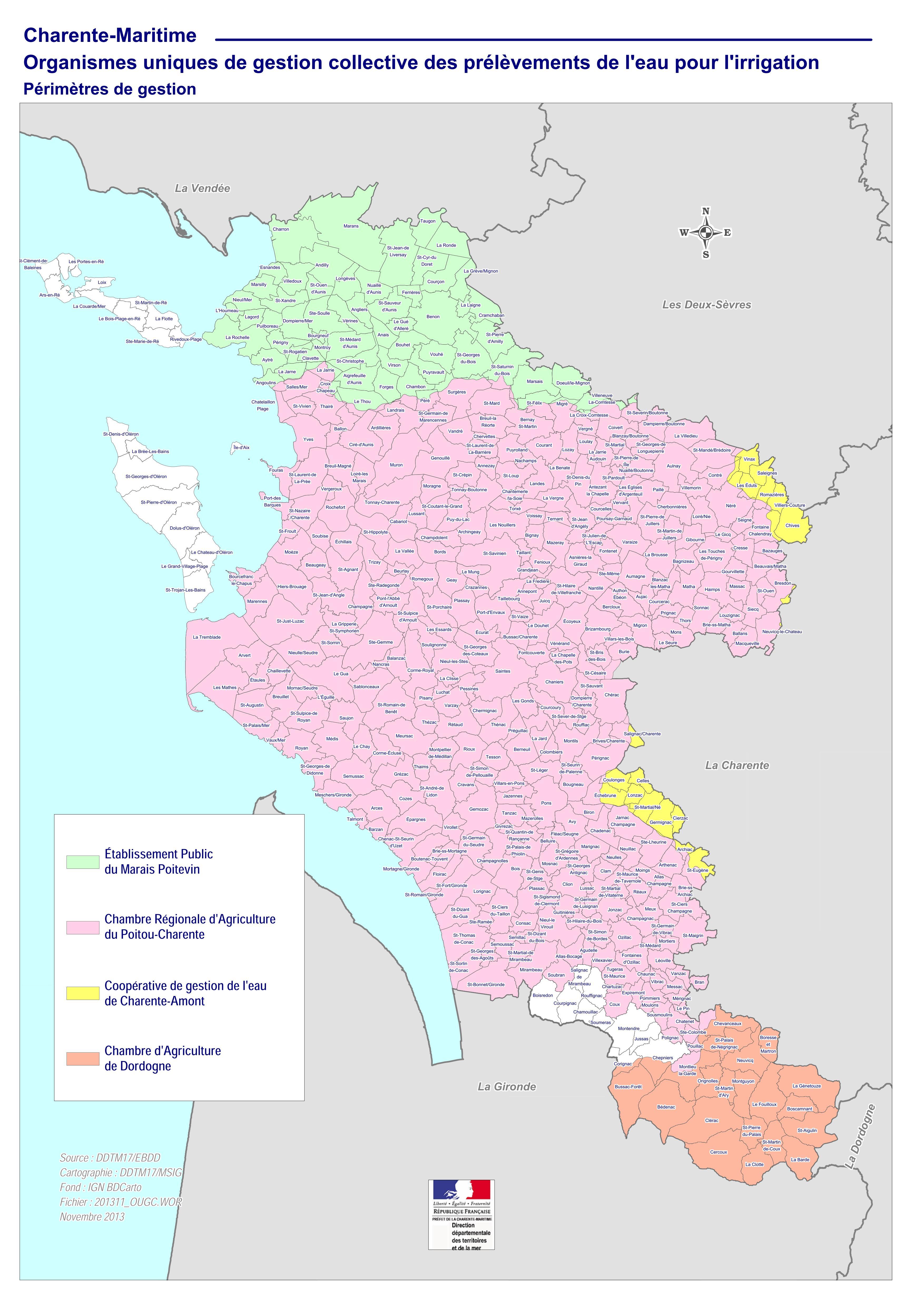 Gestion quantitative La Chambre d Agriculture de Charente Maritime